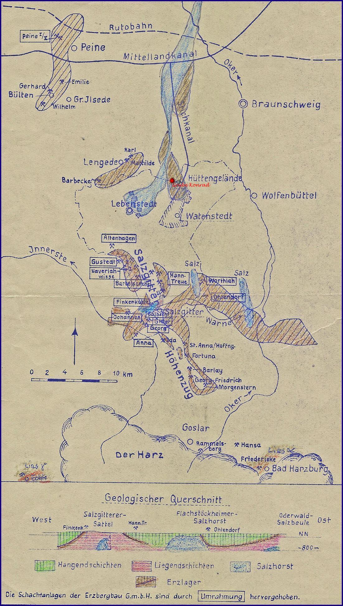 Historischer Eisenerzbergbau Im Harzvorland